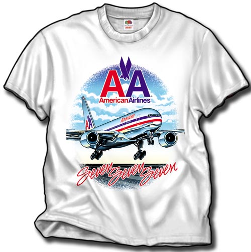 'American B-777-200' from the web at 'http://skyshirts.com/images/AA777_500.jpg'