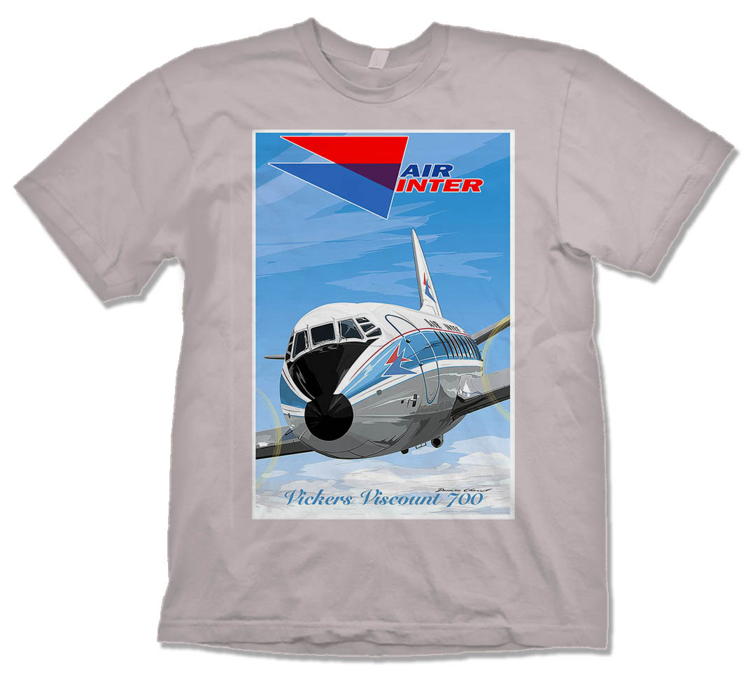 Air Inter Viscount 700 Shirt