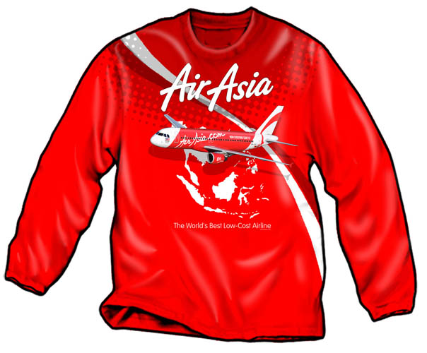 Air Asia Longsleeve