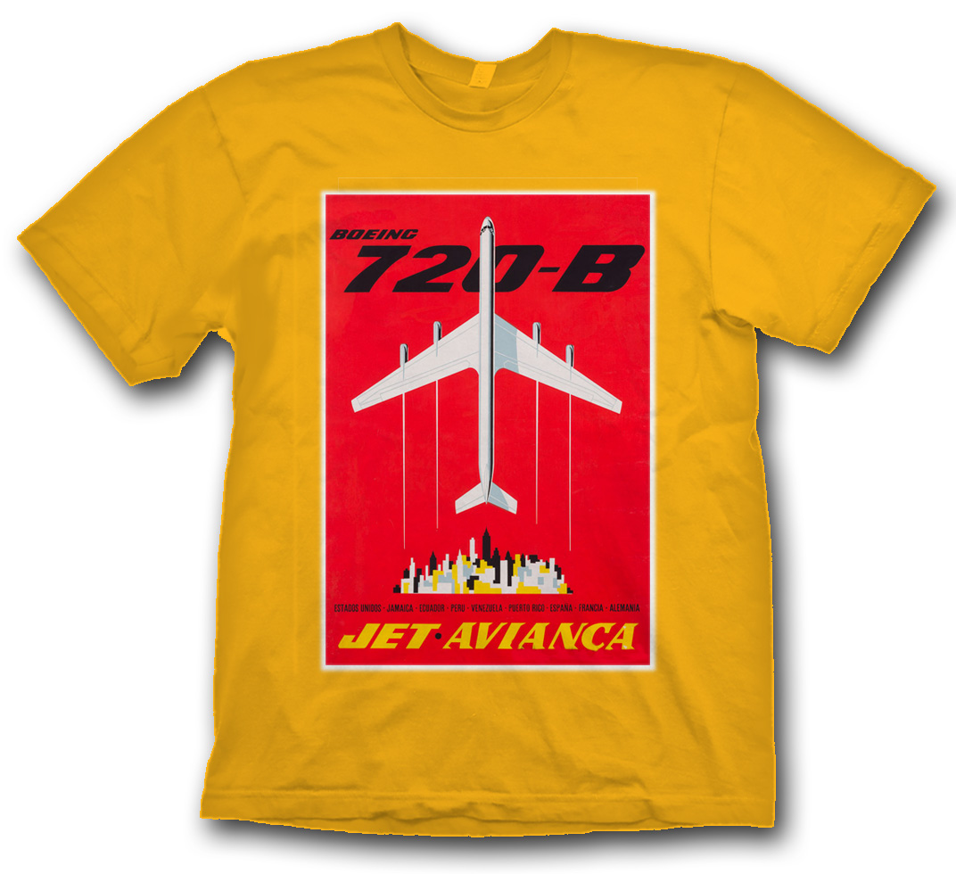 Avianca B-720 Poster Shirt