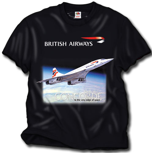 'British Concorde Kid's shirt!' from the web at 'http://skyshirts.com/images/BABK_KIDS.jpg'