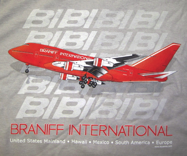 Braniff B-747SP on Ice Grey!