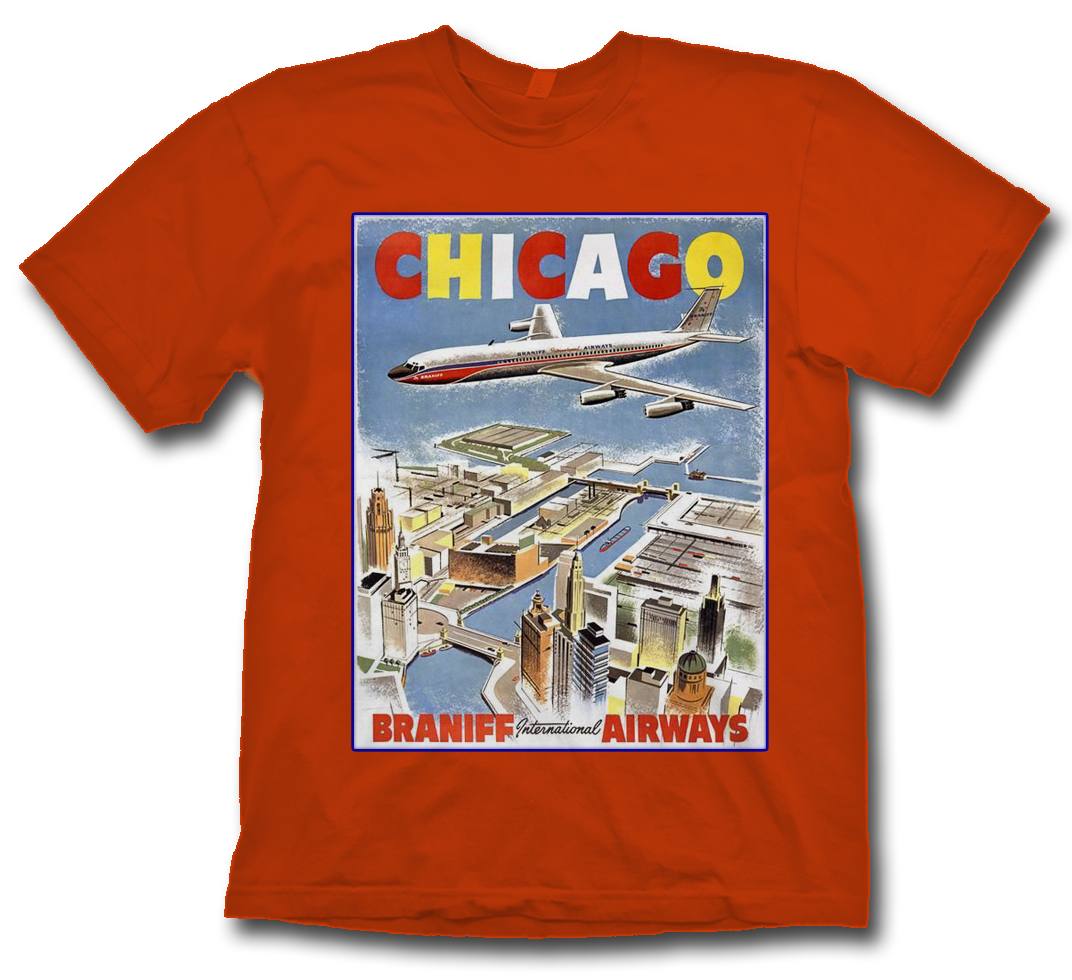 "Braniff ""Chicago"" shirt!"