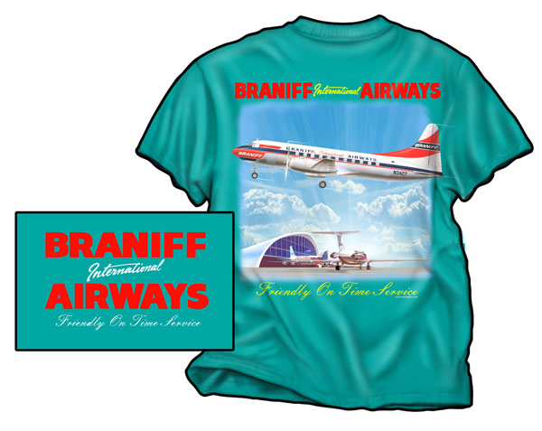 Braniff Convair on Jade On Sale!