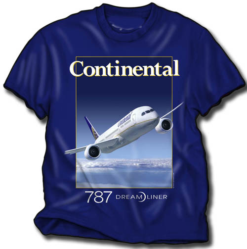 Continental 787!