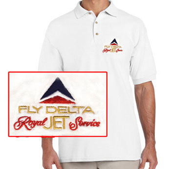 "Delta '60's ""Royal Jet Service"" Polo!"
