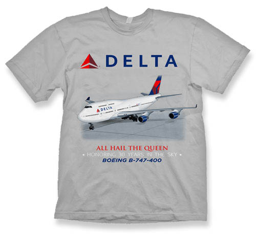 Delta B-747 Retirement Shirt!