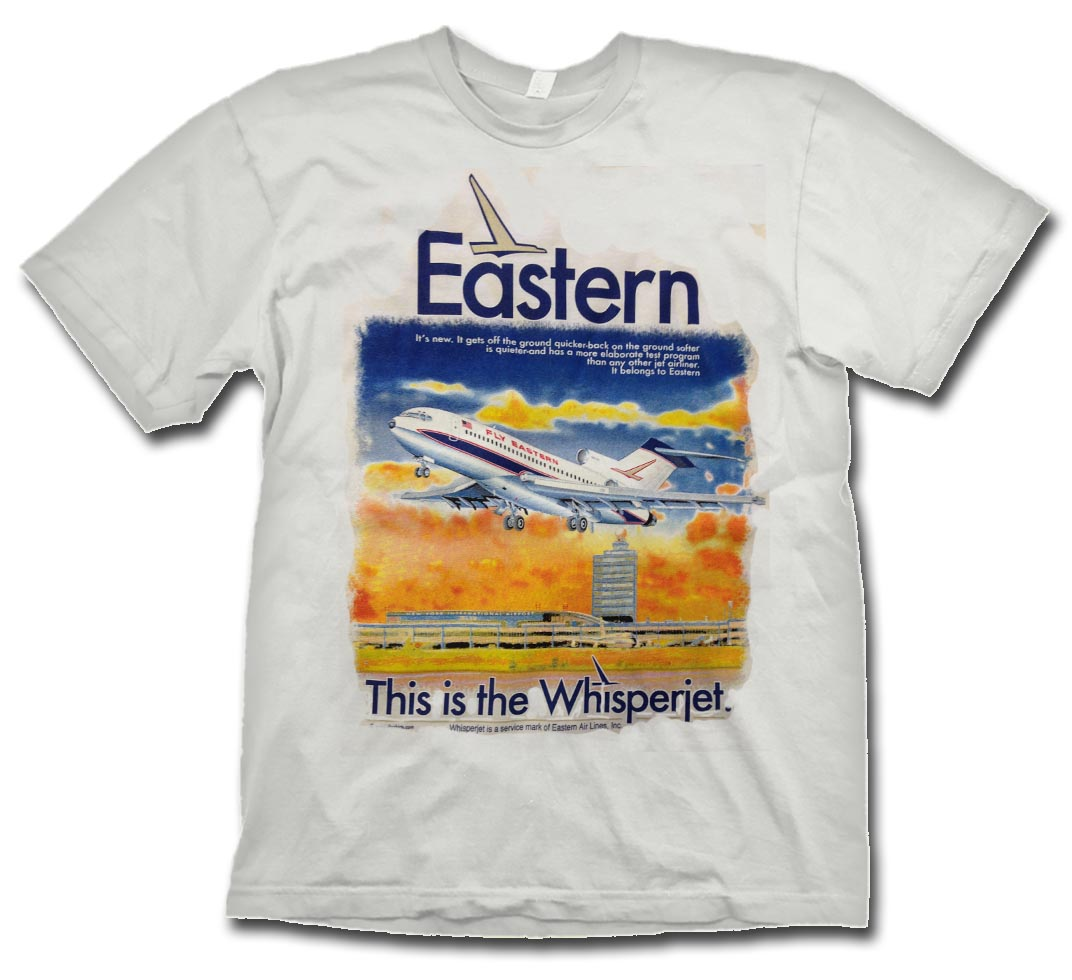 Eastern 727-100 on WHITE