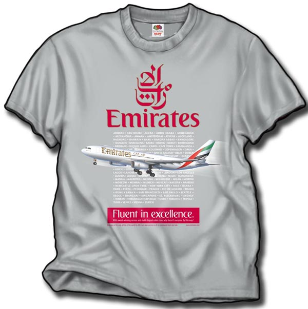 Emirates A-330 T-Shirt