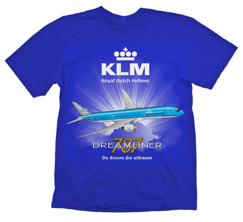 KLM B-787-9 NEW VERSION!
