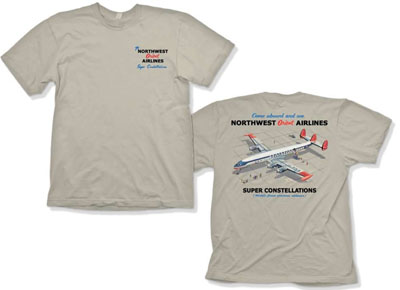 Northwest Super Constellation POCKET SHIRT!