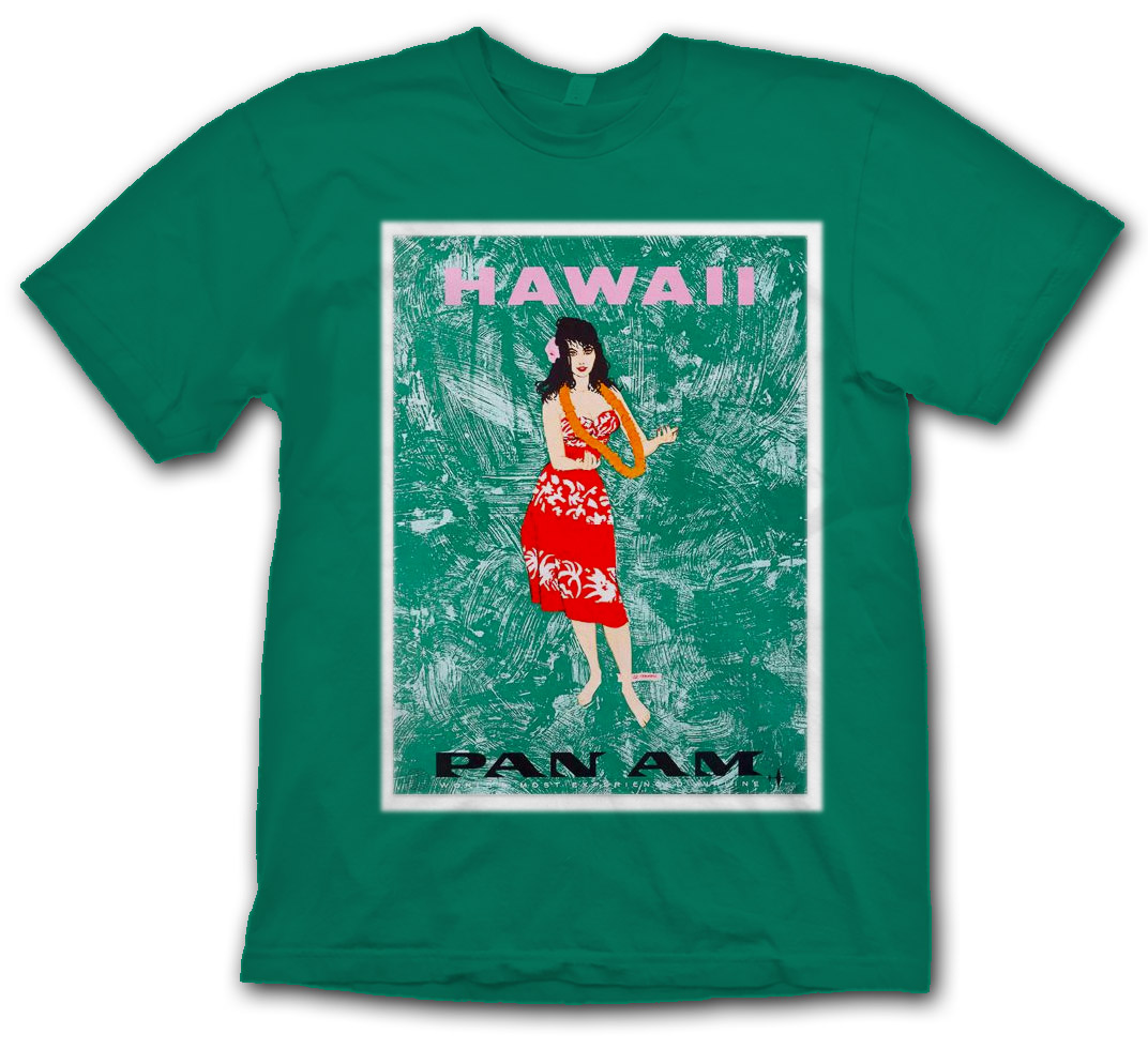 "Pan Am Hawaii ""Jungle Girl"" Shirt"