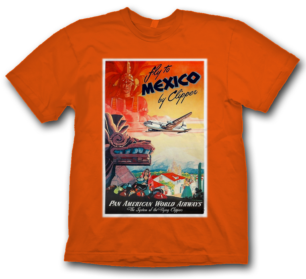 "Pan Am ""Mexico"" Poster Shirt"