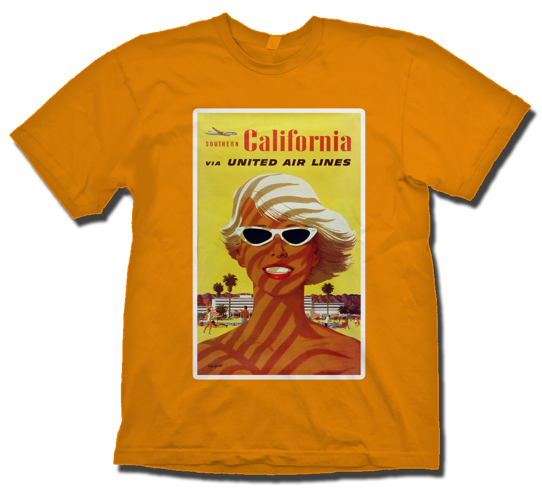 United Southern California Poster Shirt!