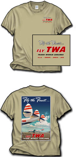 TWA Constellation Tails Shirt!