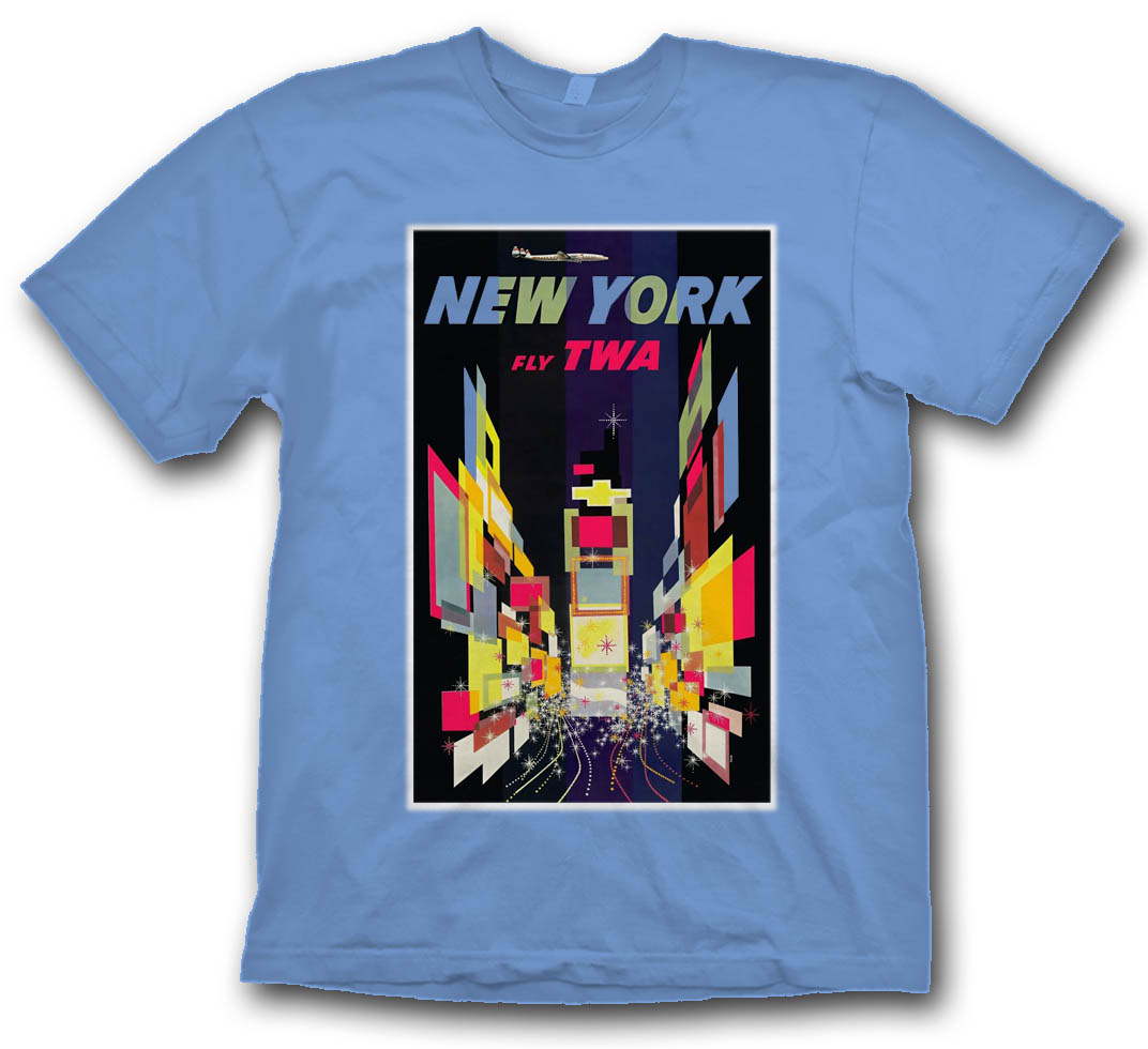 "TWA ""New York"" Poster."