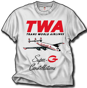TWA Super G Connie Shirt!