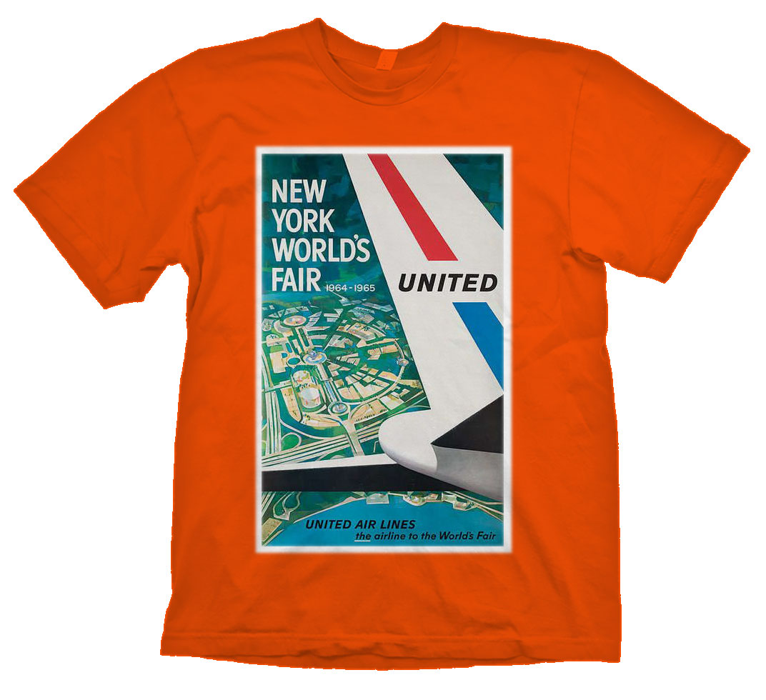 United 1964 World's Fair Shirt!
