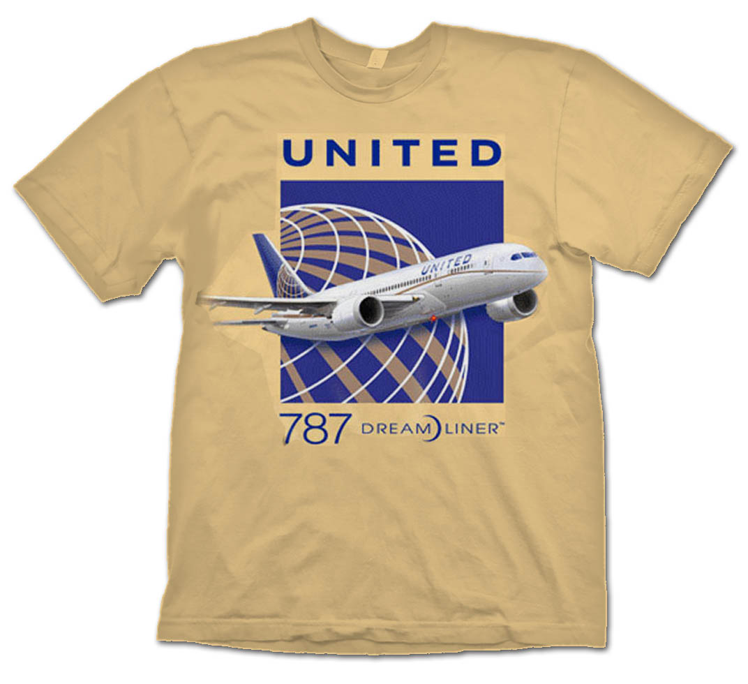 United B-787 Dreamliner