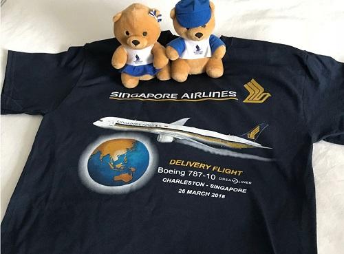 Singapore Airlines retirement flight