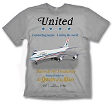 Delta 747 retirement shirt